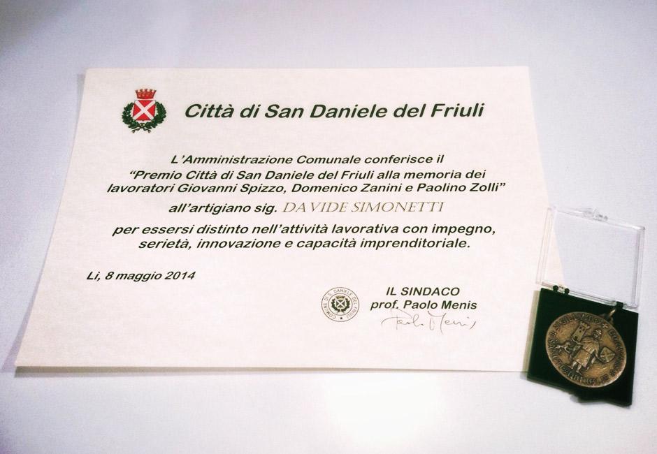 premio città di san daniele del friuli 2014